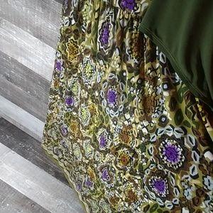 danni & nicole Dresses - Danni & Nicole maxi 18W tank dress and cover